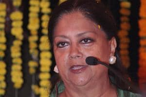 The first e-mail id that was created was of the chief minister, Vasundhara@rajasthan.bharat (in Devnagari).