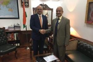 Pradeep Singh Kharola takes charge as Air India chairman and managing...