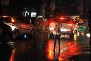 Rain in Gurgaon dips temperature, pollutants
