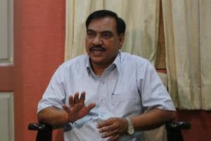 BJP leader Eknath Khadse yet to pay rent for overstaying at government...
