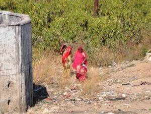 Over 1,800 people defecate in open in the state capital, revealed a survey by Dehradun Municipal Corporation.