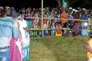 BJPgovt orders probe into Jharkhand 'kissing contest' after...