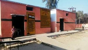 Pilibhit: Schools in saffron, DM says paint them back to white