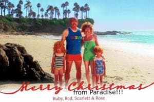 This family's amazingly awkward Christmas cards will make you laugh...