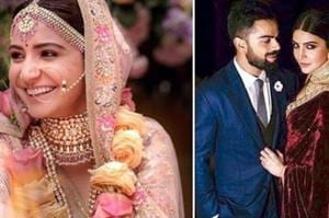 Every outfit Anushka Sharma and Virat Kohli wore at their wedding....