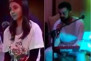 Virat Kohli sang the sweetest song for Anushka Sharma at their...