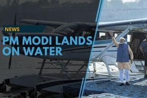 Between the Gujarat polls, Modi flew on a seaplane. Modi said this was...