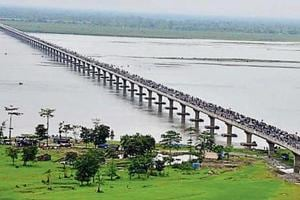 India's longest bridge to remain closed for two days for safety audit