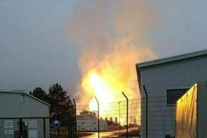 Explosion at major gas hub in Austria leaves one dead, 18 injured