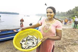 KCRekha broke taboo and picked up the trade after her husband could no longer afford a deckhand.  Today, she's considered a hero.