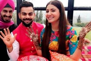 Shahid Afridi, Mohammad Amir wish Virat Kohli and Anushka Sharma on...