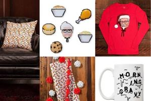 These are KFC's chicken-themed Christmas gifts. And they are...