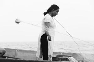 Photos: Out at sea with KC Rekha, India's lone, licenced...