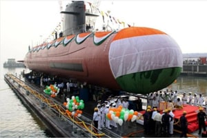 PM Modi to commission India's first scorpene-class submarine Kalvari...