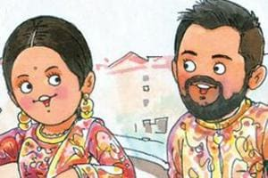 Amul wishes Virat Kohli, Anushka Sharma with a cute cartoon: Kohli...