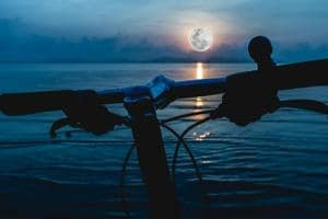 Thinking of biking on a full moon night? Research says it increases...