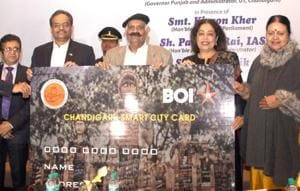 Chandigarh launches smart city cards