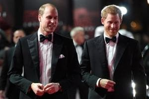 Star Wars: The Last Jedi - Prince William and newly engaged Prince...