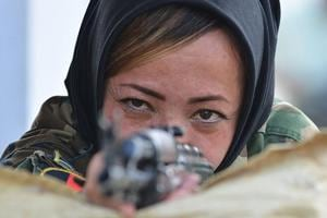 Photos: Afghan women officers train with Indian Army in Chennai