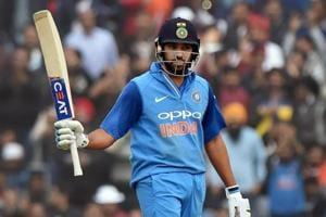 Rohit Sharma's century powers India towards big total vs Sri Lanka in...