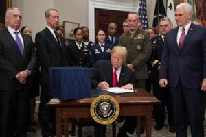 Donald Trump signs $692 billion defence budget