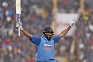 6,6,6,6,6,6,6,6,6,6,6,6 - Rohit Sharma's 3rd double century makes...