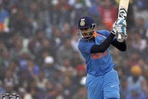 Shreyas Iyer supports skipper Rohit Sharma with maiden ODI 50 against...