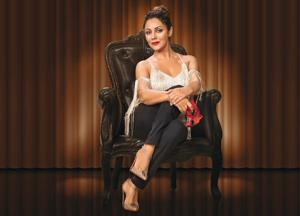 Design has been in Gauri's DNA from the start. After she redesigned Mannat, Sussanne (Khan) visited and loved it and invited Gauri to collaborate with her on some projects.  From there began Gauri's formal journey as a designer.  Gauri wears a top by Nandita Mahtani, jeans of her own and shoes by Christian Louboutin. (Make-up and hair:  Mehek Oberoi)