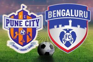 Live - Indian Super League, FCPune City vs Bengaluru FC, live score