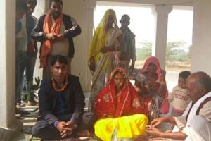 Young couple out on a date in Varanasi park gets married, thanks to...