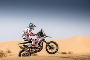 CS Santosh focuses on improving navigation at 2018 Dakar Rally