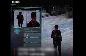 BBC journalist tries to 'evade' China's CCTV surveillance network,...