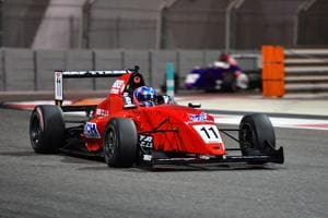 Felipe Drugovich qualifies on pole for Race 1 of MRF Challenge Abu...
