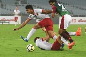I-League 2017-18: Shillong Lajong hold depleted Mohun Bagan