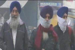 In Punjab, Amritsar recorded a minimum of 9.4 degrees Celsius.