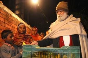 Jagdish Lal Ahuja, popularly known as PGI's 'langar baba', is searching among hundreds of poor kids whom he feeds daily.