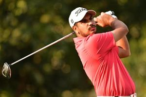 Gaganjeet Bhullar shot a bogey-free five-under 67 on Day 1 of the Indonesian Masters golf tournament in Jakarta.