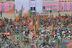 Exit polls show BJP winning Gujarat elections, defeating Congress in...