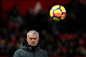 Manchester United manager Jose Mourinho admits that his side were...