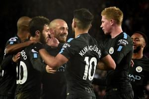 Manchester City break Premier League record, Manchester United scrape...