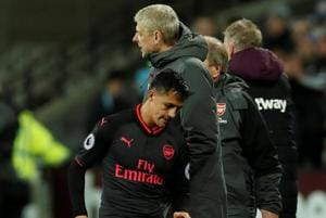Arsene Wenger not blaming Alexis Sanchez for Arsenal's goal woes