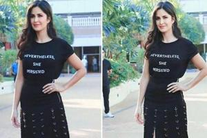 Katrina Kaif makes a statement in fierce feminist slogan tee. See pics