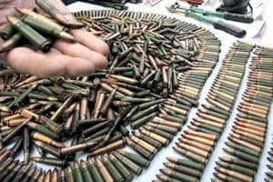 Huge arms haul in Nashik: 25 rifles, 19 revolvers,1 machine gun...