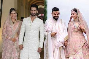 Anushka-Virat and Shahid-Mira: These couple-coordinated wedding...
