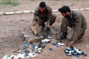Video showing soldiers' mobiles being destroyed for misuse is from...