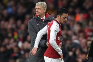 Arsenal not approached by Manchester United over Mesut Ozil, says...