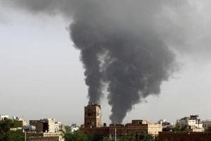 Saudi led coalition air strikes kill 28 in Yemen