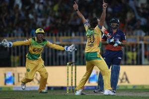 Shahid Afridi takes hat-trick in T10 cricket, Virender Sehwag his...