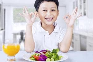 Dear parents, encourage a good diet. Kids who eat healthier food have...