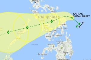Three missing as storm heads for Philippines, 38000 people moved to...